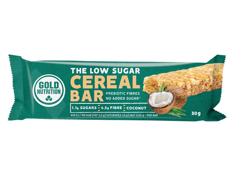 LOW SUGAR CEREAL BAR kokos