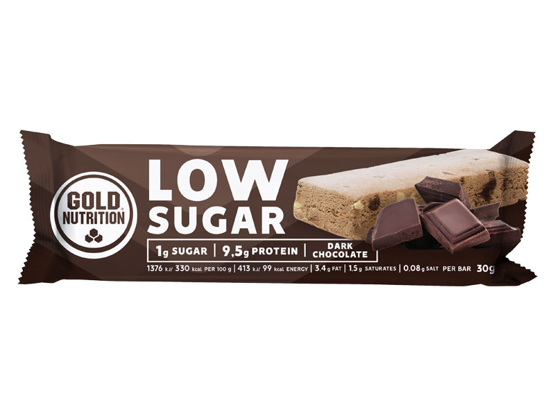 PROTEIN BAR LOW SUGAR hořká čokoláda