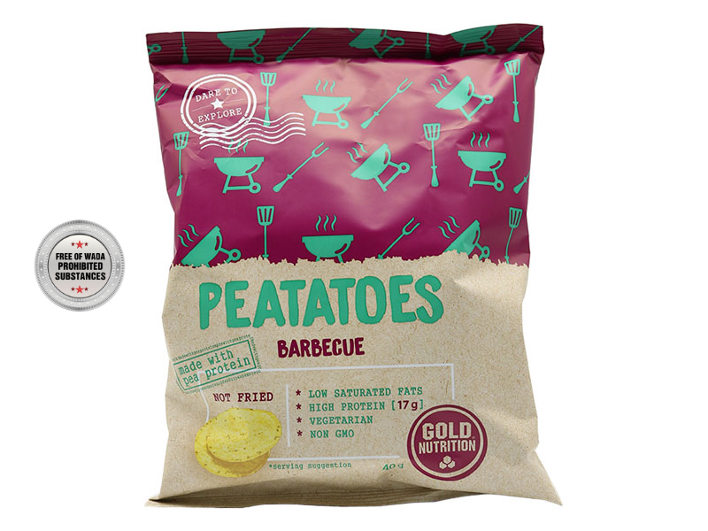 PEATATOES barbecue 40 G - proteinové chipsy
