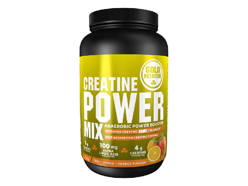 CREATINE POWER MIX pomeranč/mango 1 kg - ochucený nápoj s kreatinem