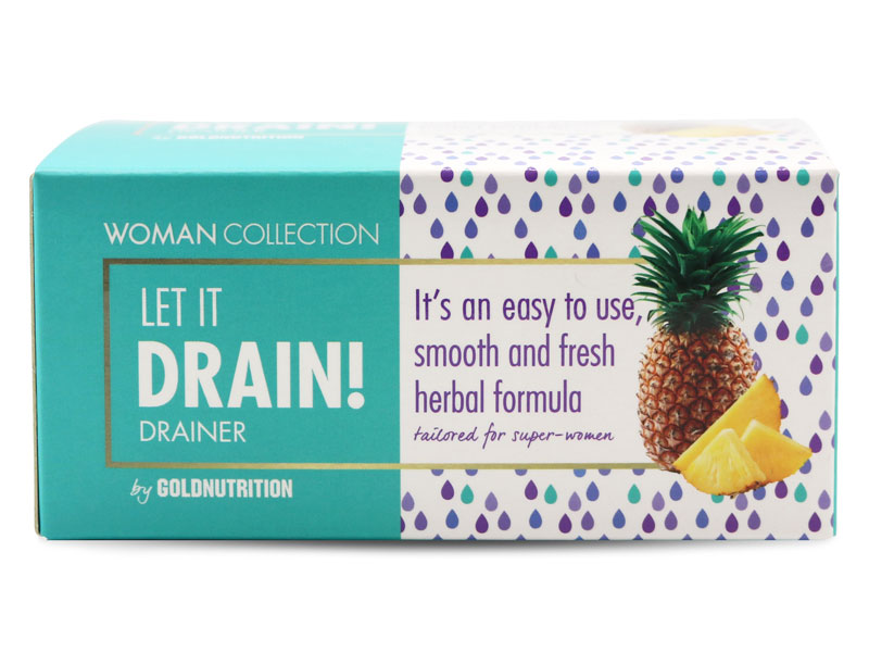 LET IT DRAIN! ananas